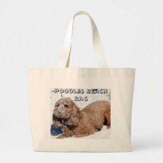 Poodles Beach Bag