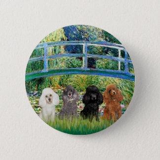 Poodles (four) - Bridge 6 Cm Round Badge