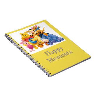 Pooh Bear Photo Notebook