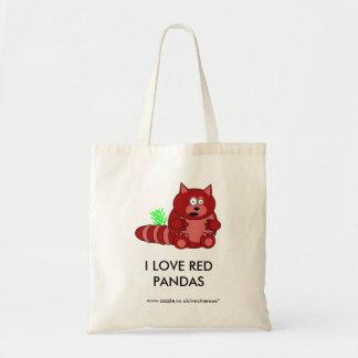 Pook the Red Panda Tote