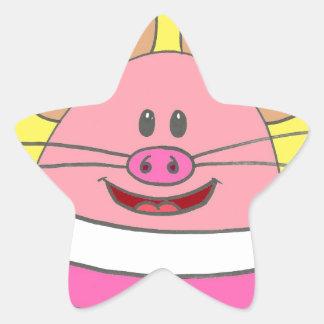 Pookey The Mousepig Merchandise Star Sticker