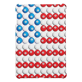 Pool Ball American Flag iPad Mini Case