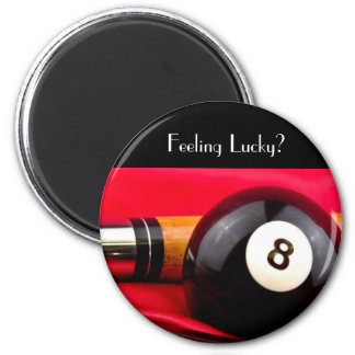 Pool Ball and cue Refrigerator Magnets