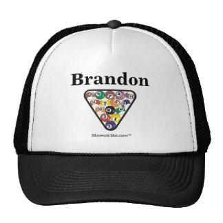 Pool Ball Rack Trucker Hat