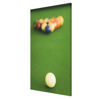 Pool Balls 2 Canvas Print