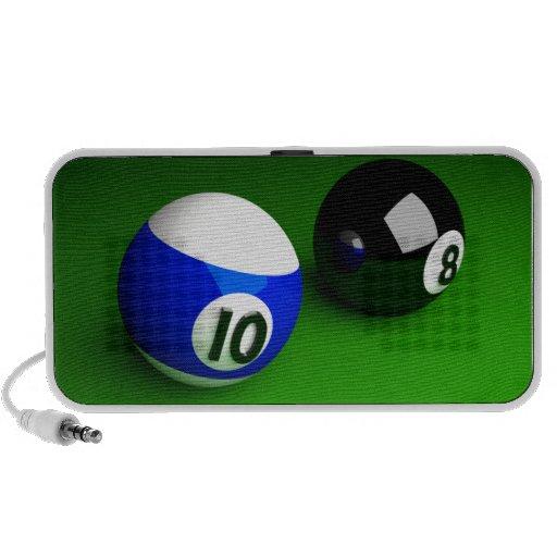 POOL BALLS 3D TRAVEL SPEAKER