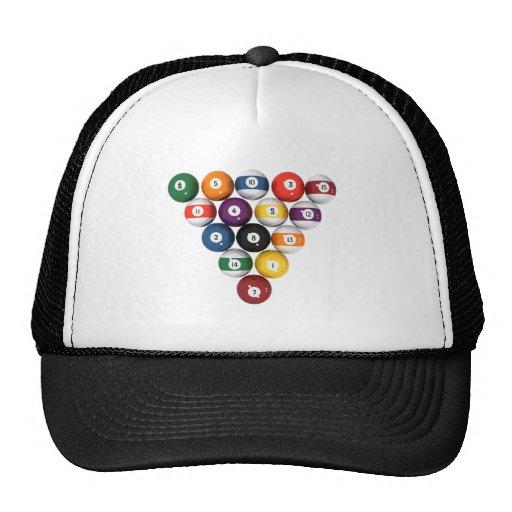Pool Balls / Billiards: 3D Model: Hats