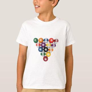 Pool Balls / Billiards: 3D Model: T-Shirt