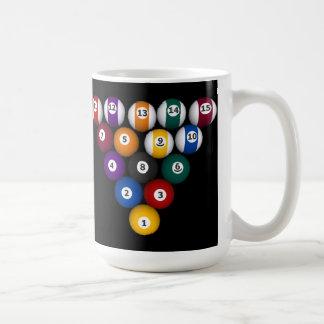 Pool Balls: Billiards: Coffee Mug: Pool Balls Coffee Mug