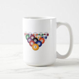 Pool Balls / Billiards: Coffee Mugs