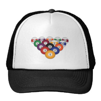 Pool Balls / Billiards: Hats