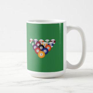 Pool Balls / Billiards: Mugs