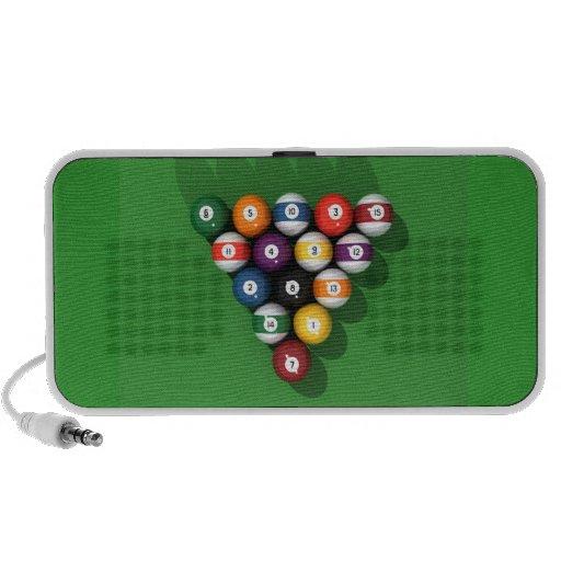 Pool Balls / Billiards: Speakers