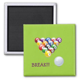 Pool Balls - Break! Magnet