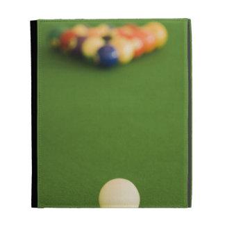 Pool Balls iPad Folio Case