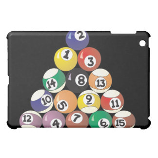 Pool Balls Cover For The iPad Mini