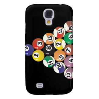 Pool Balls Galaxy S4 Case