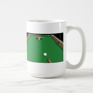 Pool Balls on Table: 3D Model: Coffee Mug