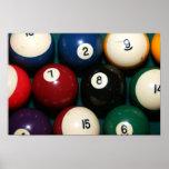 Pool Balls Poster