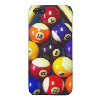 Pool Balls - Rack Em Up! iPhone 5 Covers