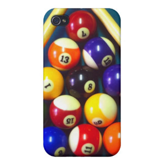 Pool Balls - Rack Em Up! Cover For iPhone 4