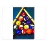 Pool Balls - Rack Em Up! Post Card