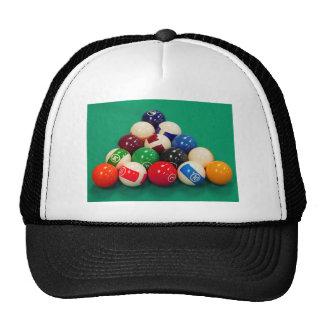 Pool Balls Racked Trucker Hats