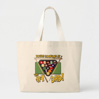 Pool/Billiards #1 Dad Father's Day Gift Bag