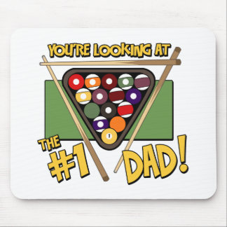 Pool/Billiards #1 Dad Father's Day Gift Mouse Pad