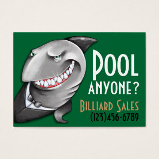 Pool.Billiards.Cards.Poker.Bar.Night club.Tables Business Card