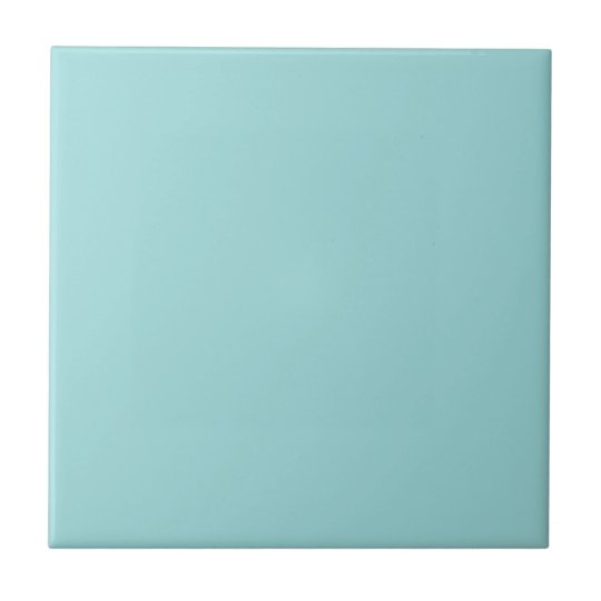 Pool Blue Personalised Aqua Teal Colour Background Tile