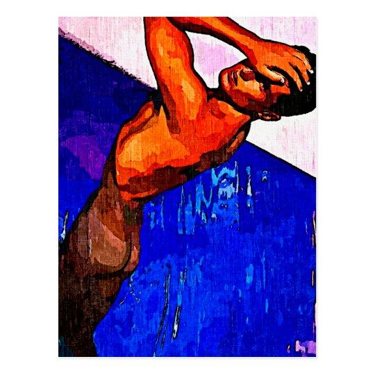 Pool Boy II V Postcard