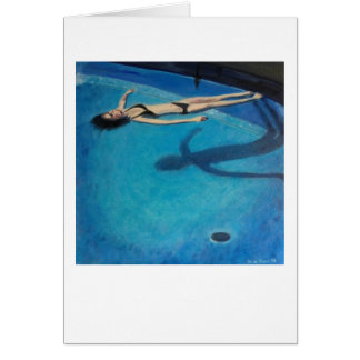 """Pool"" by Trina Chow Card"