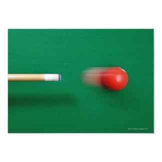 Pool Cue Card