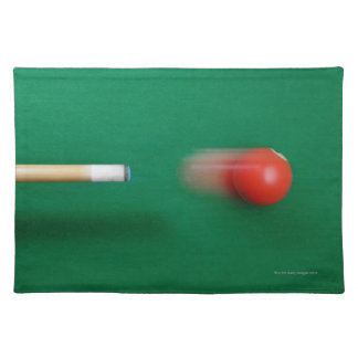 Pool Cue Placemat
