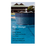 Pool Design Business Card