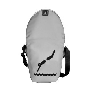 Pool Diver Courier Bags