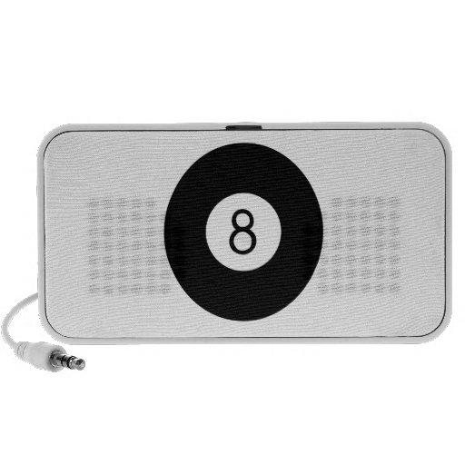 Pool Eight Ball Travelling Speaker