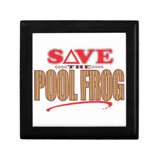 Pool Frog Save Gift Box