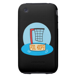 Pool Hoops iPhone 3 Tough Cover