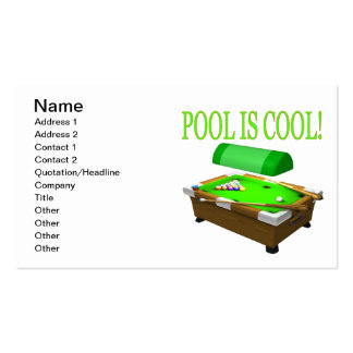 Pool Is Cool Pack Of Standard Business Cards