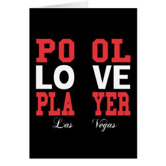 Pool Love Player Card