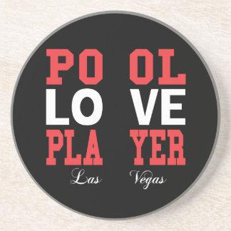 Pool Love Player Coaster