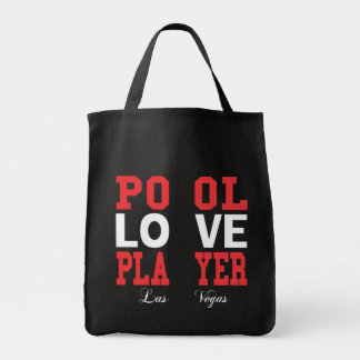 Pool Love Player Tote Bag