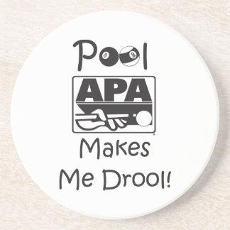 Pool Makes Me Drool Coaster