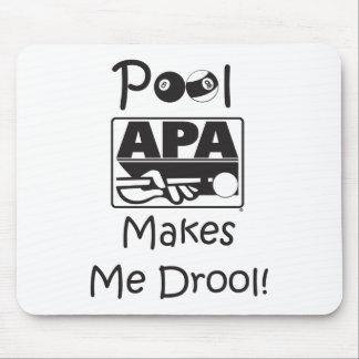 Pool Makes Me Drool Mouse Mat