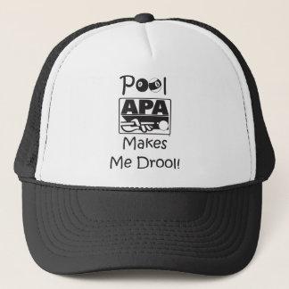 Pool Makes Me Drool Trucker Hat
