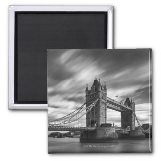 Pool of London, England Square Magnet