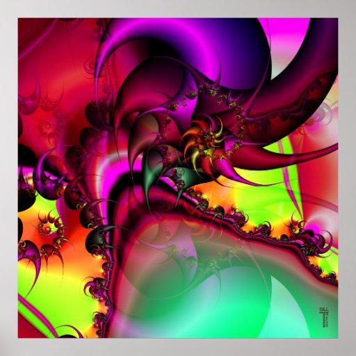 Pool of the Spiral King Variation 1  Art Print