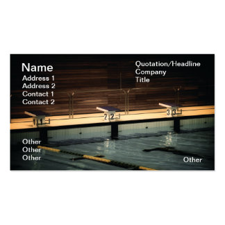 Pool Pack Of Standard Business Cards